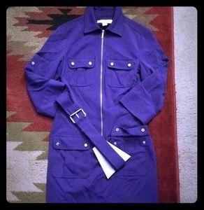 Michael Kors purple dress